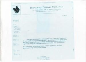 Bydgoskie Fabryki Mebli S.A. Referencje Pankowski Catering