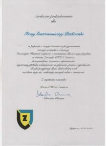 CWZS ZAWISZA Referencje Pankowski Catering