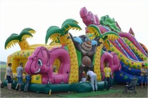 Impreza plenerowa - gry i zabawy
