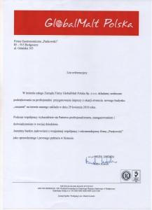 GlobalMalt Referencje Pankowski Catering