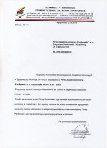 KPSZS Referencje Pankowski Catering