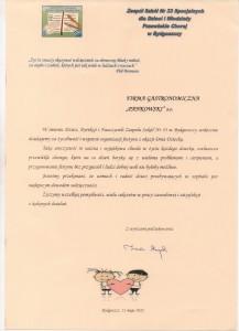 SzP nr 33 Referencje Pankowski Catering